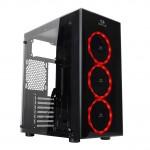 Гейминг конфигурация Red-Thunder, AMD Ryzen 3 4C/8T 3100, 16GB RAM, GB N1030OC, SSD