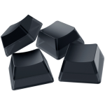Razer Phantom Keycap Upgrade Set - Black, ABS Material, Keycap Count: 128, Translucent sides, Bottom-lasered legends, Standard bottom row US and UK layout supported, Fits most cross-shaped axis switches