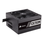Захранване Corsair Builder CX Series CX750M 80+ Bronze, 750 Watt, ATX, Power Supply, Modular, PS/2, EU Version