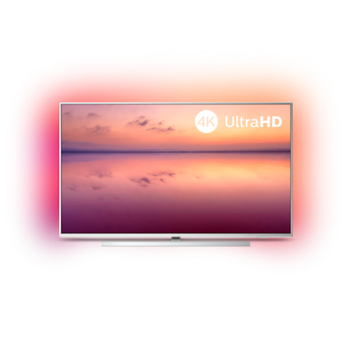Philips 43 4K Ultra HD, DVB-T/T2/T2-HD/C/S/S2, SmartTV, SAPHI, Build in Alexa, 1000 Picture Performance Index, HDR 10+, Pixel Precise Ultra HD, Dolby Vision, Dolby Atmos - MegaComp.bg