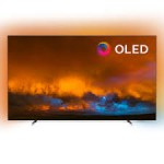 "Philips 55""OLED, 4K UHD Android TV 3-sided Ambilight, Индекс на качеството на образа 5000, HDR 10+/WCG 99%, Видео процесор P5 Perfect Picture, DVB-T/T2/T2-HD/C/S/S2"
