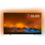 """Philips 65"""" OLED 4K UHD LED Android TV,  Ambilight 3, 5000 PPI, HDR 10+,Dolby Vision, Dolby Atmos, P5 Perfect Picture Processor"""