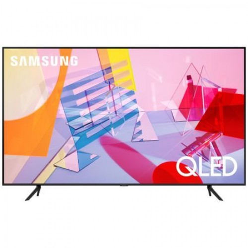 Samsung Smart TV 43 43Q60Т 4k QLED, 3840 x 2160, 3100 PQI, HDR 10+, Dolby Digital Plus, DVB-T2CS2, PIP, 4xHDMI, 2xUSB, LAN, Wireless, Bluetooth Audio, Bixby, Alexa, Google Assist, Charcoal Black - MegaComp.bg