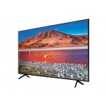 "Samsung Smart TV 50"" 50TU7072 4k UHD LED, 3840 x 2160, 2000 PQI, HDR 10+, Dolby Digital Plus, DVB-T2CS2, PIP, 3xHDMI, 1xUSB, LAN, Wireless, Bluetooth, Black"