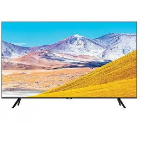 Samsung Smart TV 50 50TU8072 4k UHD LED, 3840 x 2160, 2100 PQI, HDR 10+, Dolby Digital Plus, DVB-T2CS2, PIP, 3xHDMI, 2xUSB, LAN, Wireless, Bluetooth, Bezel-less design, Black - MegaComp.bg