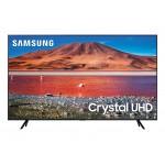 Samsung Smart TV 55 55TU7072 4k UHD LED, 3840 x 2160, 2000 PQI, HDR 10+, Dolby Digital Plus, DVB-T2CS2, PIP, 3xHDMI, 1xUSB, LAN, Wireless, Bluetooth, Black - MegaComp.bg