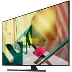 "Samsung Smart TV 65"" 65Q70T 4k QLED, 3840 x 2160, 3400 PQI, Quantum HDR 10+, Dolby Digital Plus, DVB-T2CS2 x 2, PIP, 4xHDMI, 2xUSB, LAN, Wireless, Bluetooth Audio, Bixby, Alexa, Google Assist, Charcoal Black"